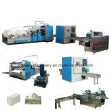 Automatische Maschine für Abschminktuch-Papier