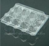 12 parties d'oeufs pour absorber l'empaquetage en plastique