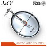 Coperchio di botola quadrato senza botola sanitaria di pressione