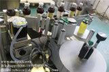 Bouteille auto-adhésive de position de difficulté et machine à étiquettes de bidons
