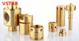Горячая продавая часть CNC оси высокой точности подвергая механической обработке латунная
