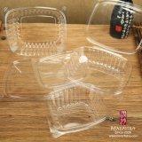 Contenitori di plastica di insalata dell'animale domestico a gettare