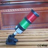 luz roja de la máquina de la señal verde de 24V 100-240V/luz de la señal sonora