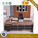 Стол офиса ноги металла покрытия черного порошка деревянный верхний (HX-6M421)