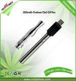 Cartuchos cerâmicos do Vaporizer do vidro C14 0.3ml/0.5ml da bobina para o petróleo de Cbd
