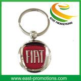Trousseau de clés fait sur commande de cadeau de souvenir en métal de logo de promotion