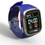 Horloge van het Scherm van de Aanraking van 1.54 Duim het Waterdichte Slimme IP65 met Dubbele GSM van Banden & wi-FI, GPS & het Dynamische Tarief van het Hart, ECG, De Controle van de Bloeddruk, het Sedentaire Eraan herinneren