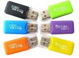 Micro micro lettore dello Smart Card della scheda di memoria del USB 2.0 di SD/TF