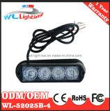 Indicatore luminoso capo d'avvertimento dello stroboscopio del montaggio di superficie 4 W LED