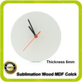 Sublimação MDF Clock for Heat Press