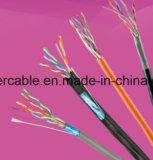 Plattfisch-Durchlauf 305m Ziehen-Kasten UTP Netz-Kabel ftp-Cat5e für Ethernet (4 PAARE)