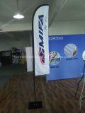 Bandeira personalizada do vôo da pena da praia do Teardrop de Pólo da fibra de vidro (SU-FG39)