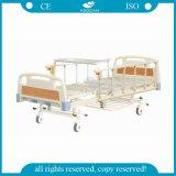 AG-BMS110セリウムISOは2つのクランクの安い手動病院用ベッドの価格を承認した