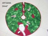 Decorazione di Treeskirt-Natale della Santa