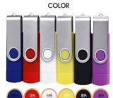 PC와 전화 둘 다를 위한 1개의 회전대 플라스틱 USB 기억 장치 지팡이에 대하여 OTG 2