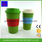 Tazze di tè su ordinazione di ultima della fibra di caffè serie ecologica di bambù della tazza