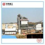 Mistura quente do elevado desempenho planta de mistura do asfalto de 80 T/H com baixas emissões de CO2