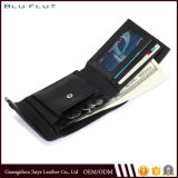 تصميم بسيطة جلد [كرديت كرد هولدر] محفظة مع عملة محفظة