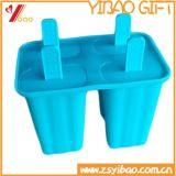 Molde personalizado del helado del silicón del grado alimenticio para la promoción