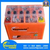 batterie de moto du gel 12V7ah pour la batterie rechargeable