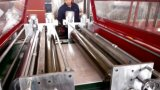 PVC 인공적인 대리석 장 도와 플라스틱 기계 쌍둥이 나사 압출기