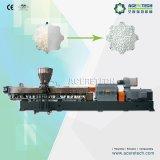 Doppelschrauben-Plastikextruder-Kalziumkarbonat, das Pelletisierung-Zeile zusammensetzt