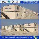 Umweltfreundliches bewegliches vorfabriziertes Behälter-Haus der hellen Stahlkonstruktion