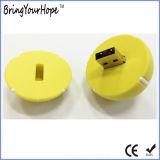 Disco instantâneo do USB do PVC da esfera de tênis (XH-USB-158)