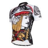 Серии короля Давида Cycling Рубашки покера для напольных спортов замыкают накоротко втулку Джерси