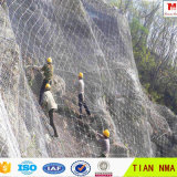 Slope Wire Mesh Fence / Rock Fall Protection Metal Mesh