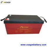 batterie solaire de cycle profond de 12V 230ah/batterie de gel/batterie d'accumulateurs