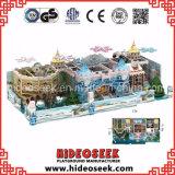Спортивная площадка замока Chidlren темы снежка льда мягко крытая капризная