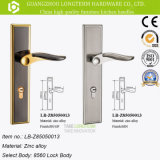 European Classical Zinc Alloy Door Handle Painel Handle Lock