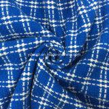 Tela de las lanas de la verificación cruzada para el sobretodo
