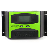 Indicador solar do controlador 12V 24V 30A LCD da carga com controle claro Ld-30b do temporizador