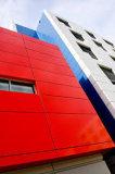Feuilles enduites de panneau de polyester en aluminium de constructeurs