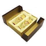 Rectángulo de empaquetado de madera de la venta al por mayor de lujo del diseño para el perfume de Oud