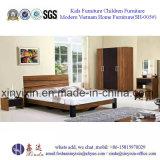 Muebles de madera del hogar de la base de los muebles del dormitorio del hotel de Guangzhou (SH-002#)