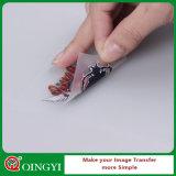 Etiqueta engomada de la impresión del traspaso térmico de Qingyi para el equipo de fútbol
