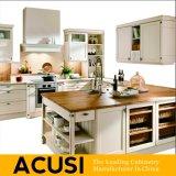 Оптовая новая мебель кухни неофициальных советников президента твердой древесины типа награды u (ACS2-W17)