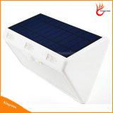 luz psta solar do sensor de movimento do lúmen elevado solar impermeável ao ar livre PIR da lâmpada de parede da segurança 60LED com 3 modalidades