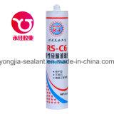 Snel Genezend Dichtingsproduct van het Silicone van het Glas van het Algemene Doel het Transparante (rs-C6)