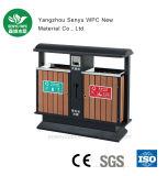 Cubo de basura al aire libre de WPC con Ce/SGS