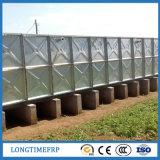 tanque de água de aço de 1*1m Galvanizeds com encaixes