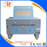 Machine de gravure laser efficace à base de noix de coco avec 2 trous de travail (JM-960-CC2)