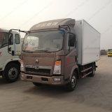Sinotruk HOWOの軽量食糧交通機関冷却装置トラック