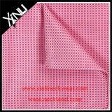 100%の絹のジャカードによって編まれる人のハンカチーフの前にフォールドの小型の正方形