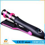 3en1 caliente Cepillo y rizador de pelo y plancha para el pelo
