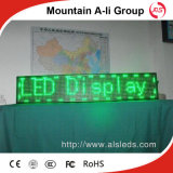 P10 표시의 옥외 단 하나 녹색 LED 모듈