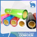 Vinyle de transfert thermique de film de câble d'unité centrale de couleur fluorescente